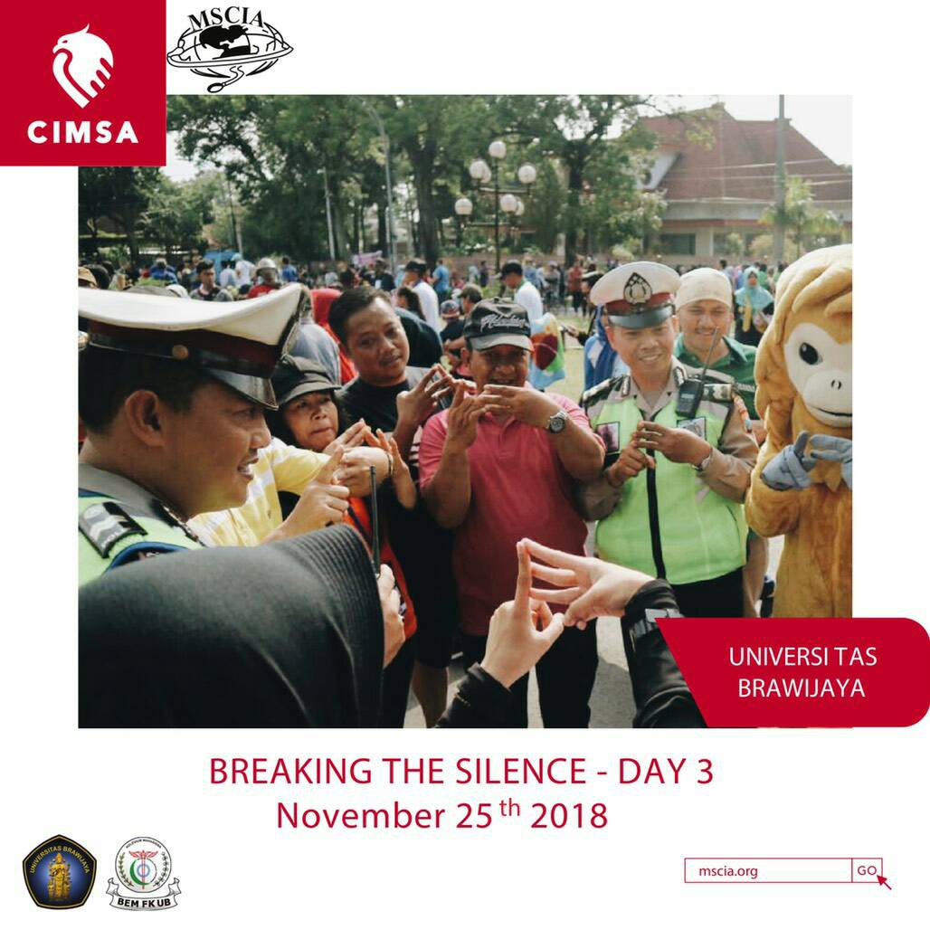 Breaking The Silence by Universitas Brawijaya