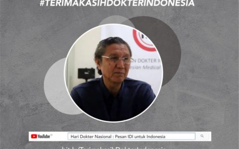 National's Doctor Day : Message for Indonesia