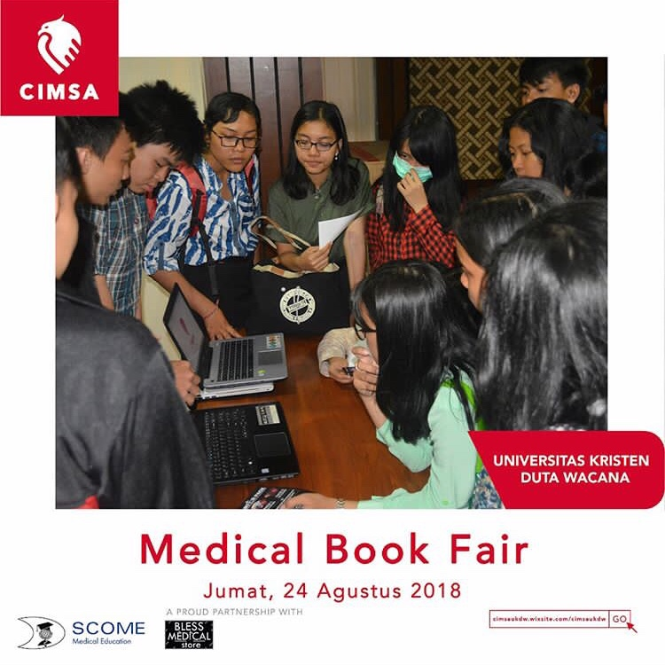 MBF (Medical Book Fair) by Universitas Kristen Duta Wacana