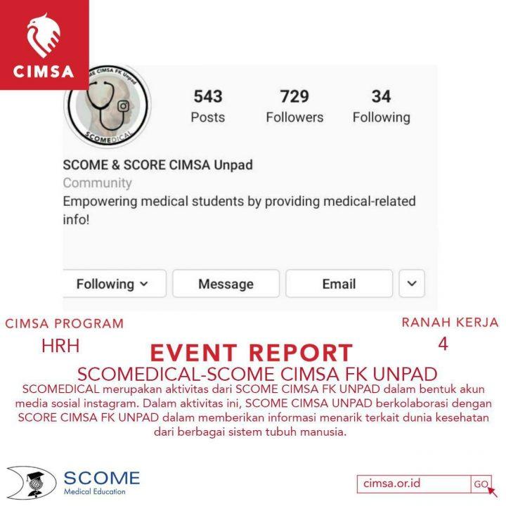SCOMEdical-SCOME CIMSA FK UNPAD