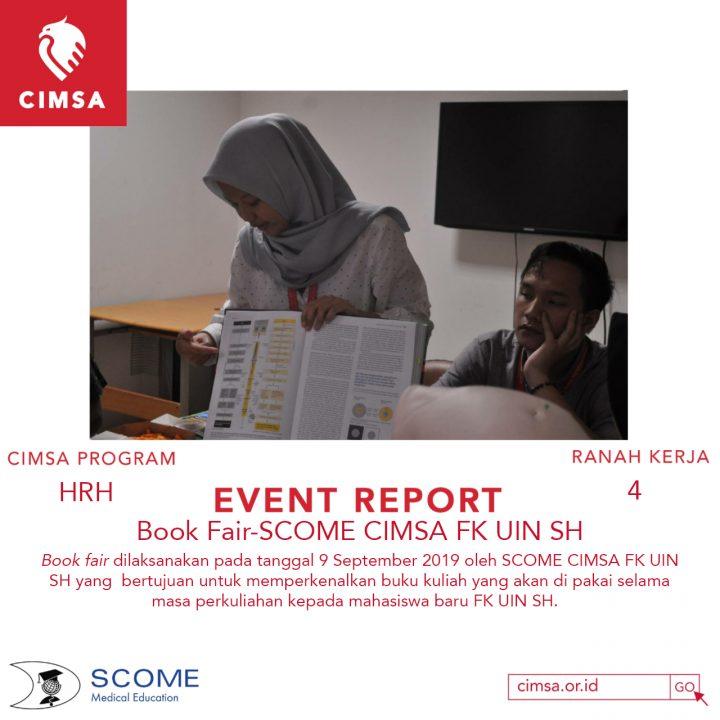 BOOK FAIR-SCOME CIMSA FK UIN SH
