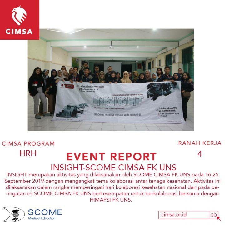 INSIGHT-SCOME CIMSA FK UNS