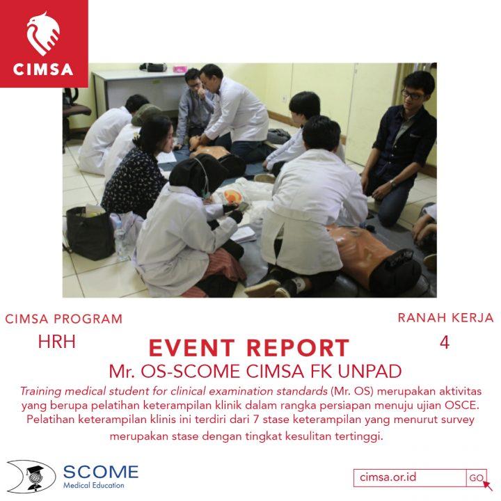 Mr.OS-SCOME CIMSA FK UNPAD